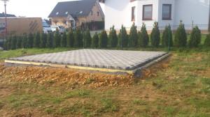 Pflaster Gartenhaus