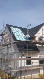 Warmwasser Solaranlage